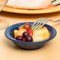 Carlisle 4353135 Dallas Ware 4.75 oz. Cafe Blue Fruit Bowl - 48/Case