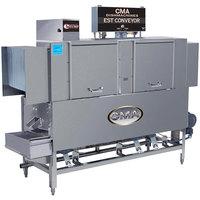 CMA Dishmachines EST-66 High Temperature Conveyor Dishwasher - Left to Right, 208V, 3 Phase