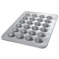 Chicago Metallic 45645 24 Cup Glazed Oversized Large Muffin Pan - 17 7/8 inch x 25 7/8 inch