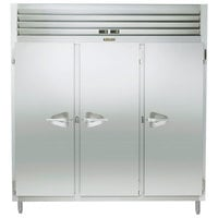Traulsen RDT332NUT-FHS Stainless Steel 60.7 Cu. Ft. Three Section Narrow Reach In Refrigerator / Freezer - Specification Line