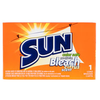 2 oz. Sun Color Safe Bleach Powder Packet for Coin Vending Machine - 100/Case