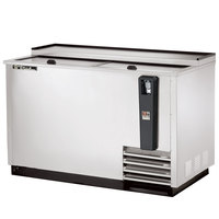 True TD-50-18-S 50 inch Stainless Steel Horizontal Bottle Cooler