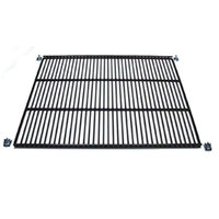 True 909257 Black Coated Wire Shelf - 22 7/8 inch x 21 3/4 inch