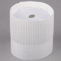 Royal Paper SCH7 7 inch Disposable Fluted Chef Hat  - 15/Pack