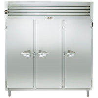 Traulsen RHT332NPUT-FHS Stainless Steel 73.1 Cu. Ft. Three Section Solid Door Narrow Pass-Through Refrigerator - Specification Line