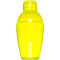 Fineline 4102-Y Quenchers 10 oz. Yellow Plastic Shaker - 24/Case