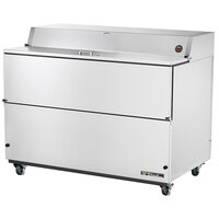 True TMC-58-S 58 inch Stainless Steel One Sided Milk Cooler