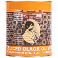 #10 Can Sliced Black Olives - 6/Case