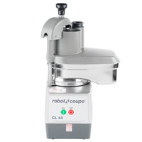 Robot Coupe CL40 Continuous Feed Food Processor with 2 Discs - 1 hp