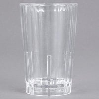 Cambro HT12CW135 Camwear Huntington 12 oz. Clear Squat Plastic Tumbler - 36/Case