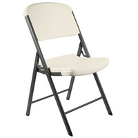 Lifetime 2803 Almond Contoured Folding Chair