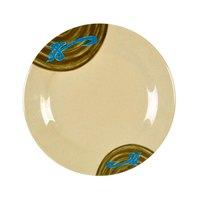 Wei 6 inch Round Melamine Plate - 12/Pack