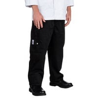 Chef Revival Size 2X Black Chef Cargo Pants