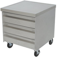 Advance Tabco MDC-4-2020 Mobile Drawer Cabinet - 4 Drawers