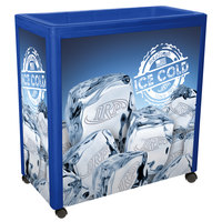 IRP Blue Avalanche 300 Mobile 112 Qt. Cooler Merchandiser