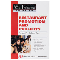 Restaurant Promotion & Publicity For Just A Few Dollars A Day