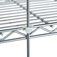 Metro R84C 84 inch Chrome Wire Shelving Rod
