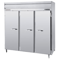 Beverage-Air PRF48-24-1AS-02 78 inch Stainless Steel Solid Door Dual Temperature Reach-In