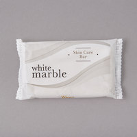 Dial DW00417A White Marble Tone Skin Care Soap 0.81 oz. - 500/Case
