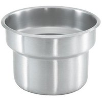 Vollrath 4635430-1 4 Qt. Stainless Steel Inset for 4635410 Somerville Gravy / Sauce Urn