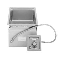 Wells MOD100TD 1 Pan Drop-In Hot Food Well with Drain - Thermostatic Control, 120V