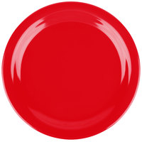 Carlisle 4350105 Dallas Ware 9 inch Red Melamine Plate - 48/Case  sc 1 st  WebstaurantStore : red melamine plates - pezcame.com