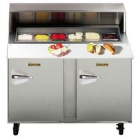 Traulsen UPT4812-RR 48 inch Standard Top Sandwich / Salad Prep Refrigerator with Right Hinged Doors