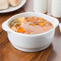 Arcoroc R0830 Candour 12.5 oz. White Stackable Porcelain Soup Bowl by Arc Cardinal - 24/Case