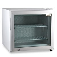 Excellence CTF-2HC White Countertop Display Freezer with Swing Door - 1.8 cu. ft.