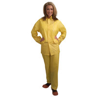 Yellow Economy 3 Piece Rainsuit - Small