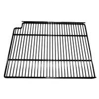 True 921783 Gray Coated Wire Shelf with Shelf Clips - 19 inch x 16 1/4 inch
