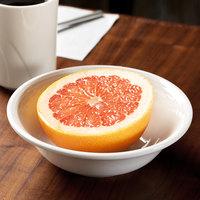 Syracuse China 911196027 Repetition 16.5 oz. Aluma White Porcelain Grapefruit Bowl - 36/Case