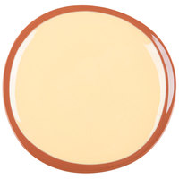 Syracuse China 922226351 Terracotta 9 inch Mustard Seed Yellow Plate - 12/Case