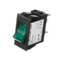 BevLes 1300220 Switch, Rkr Dpst Grn 16 Amp 240v