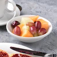 Syracuse China 911196028 Repetition 5 oz. Aluma White Porcelain Fruit Bowl - 36/Case