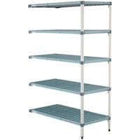 Metro 5AQ457G3 MetroMax Q Shelving Add On Unit - 21 inch x 48 inch x 74 inch