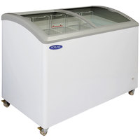 Nor-Lake CTB52-12 Curved Lid Display Freezer - 14.5 Cu. Ft.