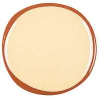 Syracuse China 922226352 Terracotta 10 3/4 inch Mustard Seed Yellow Plate - 12/Case