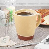 Syracuse China 922226354 Terracotta 14 oz. Mustard Seed Yellow Mug - 12/Case