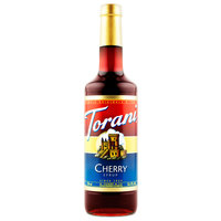 Torani 750 mL Cherry Flavoring / Fruit Syrup