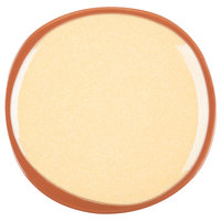 Syracuse China 922226350 Terracotta 6 3/8 inch Mustard Seed Yellow Plate - 12/Case