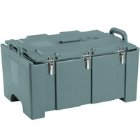 Cambro 100MPC Camcarrier Slate Blue Top loading Pan Carrier with Handles for 12 inch x 20 inch Food Pans
