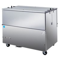Beverage-Air ST49N-S 49 inch Stainless Steel 2-Sided Cold Wall Milk Cooler