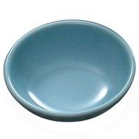 Thunder Group 3935 Blue Jade 3 oz. Round Melamine Sauce Dish - 24/Pack