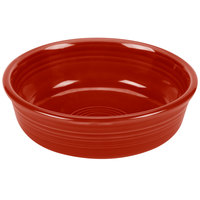 Homer Laughlin 460326 Fiesta Scarlet 14.25 oz. Nappy Bowl - 12/Case