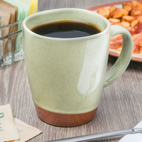 Syracuse China 922224354 Terracotta 14 oz. Fern Green Mug - 12/Case