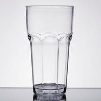 Carlisle 582207 Louis 22 oz. Clear Plastic Tumbler - 24/Case