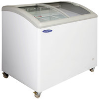 Nor-Lake CTB43-9 Curved Lid Display Freezer - 11.5 Cu. Ft.