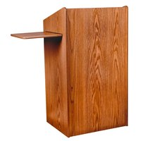 Oklahoma Sound 600CH Wild Cherry Finish Aristocrat Floor Lectern