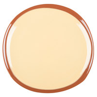 Syracuse China 922226358 Terracotta 12 inch Mustard Seed Yellow Plate - 12/Case